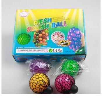 06-6138, Knautschball 6 cm, zum Quetschen und Kneten, zum Quetschball