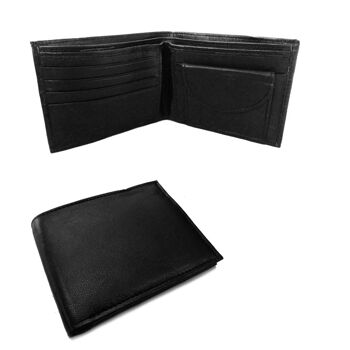 Promo: 500 Stück Herren Geldbörsen aus Leder - 4 Modelle