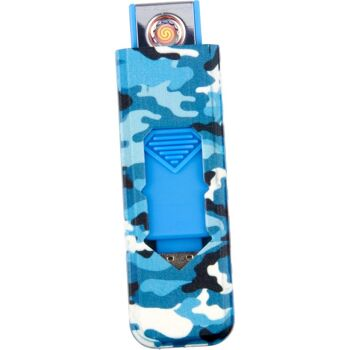28-167295, Feuerzeug, Zigarettenanzünder Metall, mit USB, wiederaufladbar