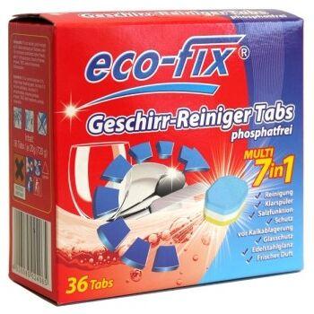 12-502406, Geschirrreiniger-Tabs 7in1, 36er Pack