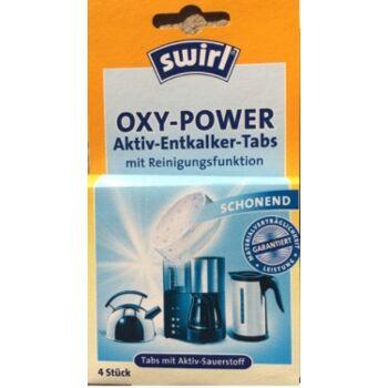 12-817990, Swirl Oxy-Power Entkalkertabs 4er Pack, von Swirl, tabs mit Aktiv-Sauerstoff