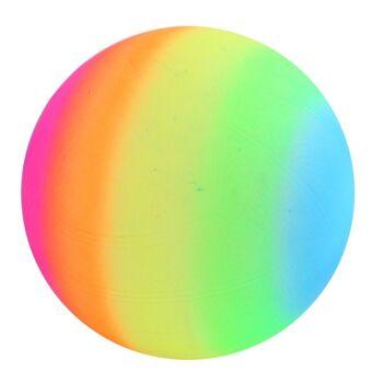 27-95012, Regenbogenball 24 cm, Wasserball, Fussball, Fußball, Beachball