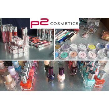 Gemischter Restposten Palettenware P2 Kosmetik Artikel Nagellack Lippenstift Schminke Mascara ALLES GEPRÜFTE NEUWAREN nur 0,45 Euro
