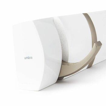 Umbra Hooks Flip 5 318850-660 Garderobenhaken in weiß Wandhaken Kleiderhaken Kleideraufhänger Jackenständer Garderobe