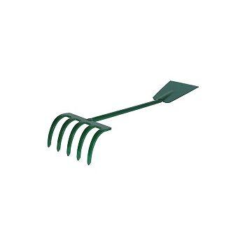 12-15003228, Harke und Schaufel zweiseitig hochwertig  Holz, Gartengerät, Gartenwerkzeug Blumenbeet, usw