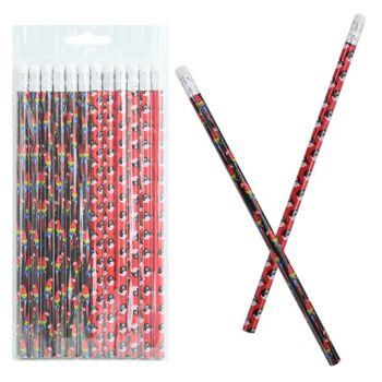 27-80529, Bleistift mit Radiergummi, Pirat und Papagei