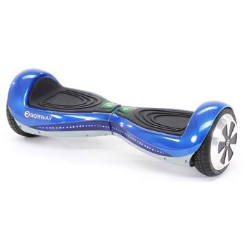 E-Balance Hoverboard ROBWAY Q1 6,5`Reifen mit App-Funktion