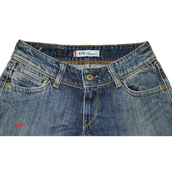 LEVIS 470 Straight Fit Damen Jeans Hose W26L34 Jeans Hosen 28121202
