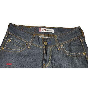 LEVIS 570 Straight Fit Damen Jeans Hose W25L34 Jeans Hosen 25121201