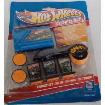 12-16109, Hot Wheels, Stempel-Set 7-teilig