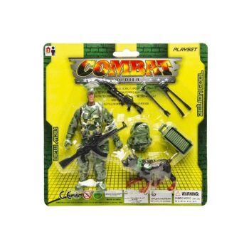 12-25780001, Spielfigur Soldat mit Zubehör, Soldaten Spielset