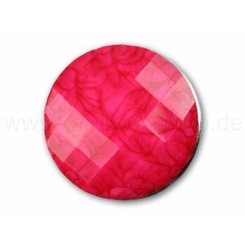 A-ch25 Chunk Button Design: Facettenschliff Farbe: pink
