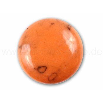 A-ch68 Chunk Button Design: Natursteinoptik Farbe: orange