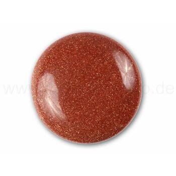 A-ch72 Chunk Button Design: Glitzernd Farbe: braun