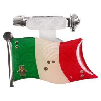 BL-102 Blinki Blinker grün weiss rot Flagge Italien