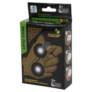 C-671 Sortierung Finger Yoyo mit LED Beleuchtung