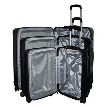 ecolle Kofferset 3 tlg. dunkelblau