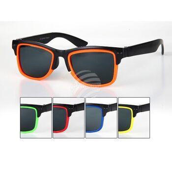 K-113 Sonnenbrille für Kinder Form: Vintage Retro Farbe: Farbsortierung