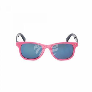K-138 Retro Vintage VIPER Kinder Sonnenbrille Sonnenbrillen silberne Applikationen am Rahmen sortiert