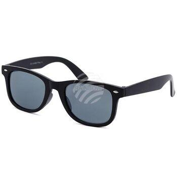 K-139 Retro Vintage VIPER Kinder Sonnenbrille Sonnenbrillen silberne Applikationen am Rahmen sortiert