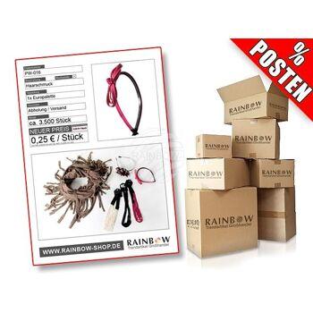 PW-016 Posten mit ca. 3500 Stück an modischem Haarschmuck in verschiedenen Designs