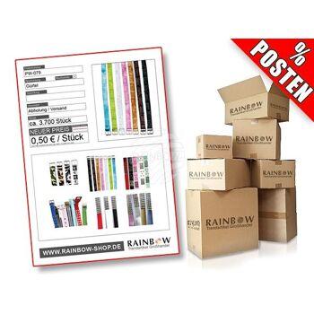 PW-079 Postenware Posten Gürtel verschiedene Designs und Motive / multicolor