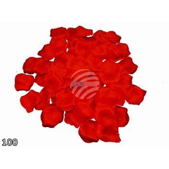 RB-14 Rosenblätter Blütenblätter rot 100 Blütenblätter pro Packung