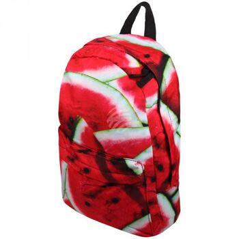 RUCK-a035 Hochwertiger Rucksack Wassermelone rot