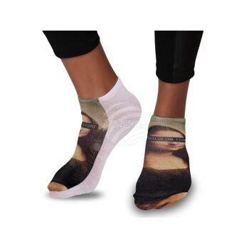 SO-118 Motiv Socken Design:Trust no bitch Farbe: mehrfarbig
