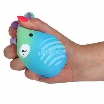 SQ-260 Squishy Squishies Einhornball blau ca. 13 cm