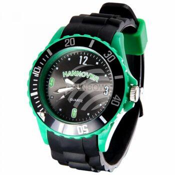 UR-253 Uhren Armbanduhren Städteuhren Fanartikel Hannover schwarz Ø ca. 4,4 cm