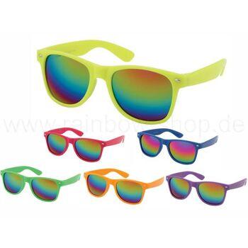 V-1002 VIPER Damen und Herren Sonnenbrille Form: Vintage Retro Farbe: Farbsortierung