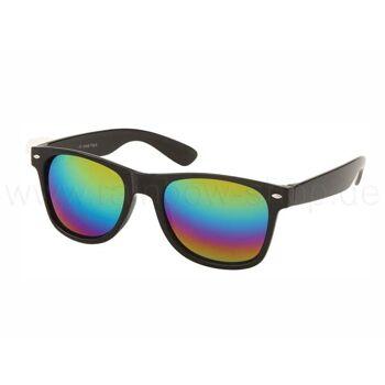 V-1004 VIPER Damen und Herren Sonnenbrille Form: Vintage Retro Farbe: schwarz