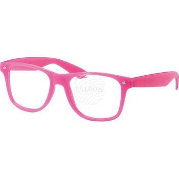 V-1099 VIPER Damen und Herren Sonnenbrille Form: Vintage Retro, Nerdbrille Farbe: Pastell Farben sortiert