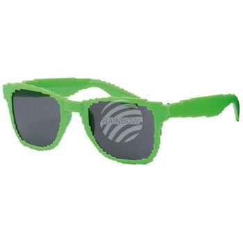 V-1108 VIPER Damen und Herren Sonnenbrille Form: Vintage Retro Farbe: Farbsortierung, Pixelbrille