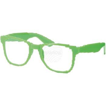 V-1109 VIPER Damen und Herren Sonnenbrille Form: Vintage Retro, Nerdbrille Farbe: Farbsortierung, Pixelbrille
