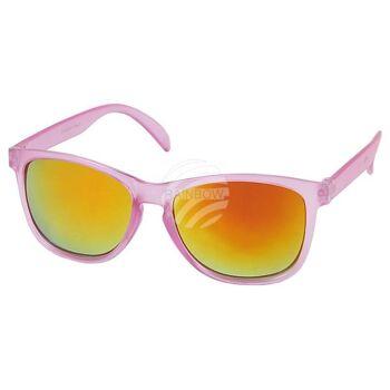 V-1210 VIPER Damen und Herren Sonnenbrille Form: Vintage Retro Farbe: Farbsortierung transparent