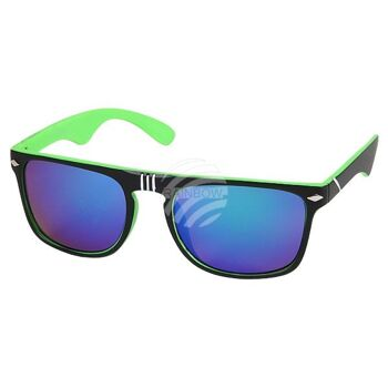V-1211 VIPER Damen und Herren Sonnenbrille Form: Vintage Retro Farbe: innen Farbsortierung, aussen schwarz