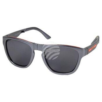 V-1216 VIPER Damen und Herren Sonnenbrille Form: Vintage Retro klappbar Farbe: schwarz oder grau, Applikation auf dem Bügel, Sortierung