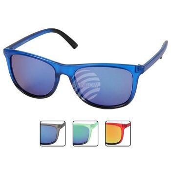 V-1222 VIPER Damen und Herren Sonnenbrille Form: Vintage Retro Farbe: transparent, farbig sortiert