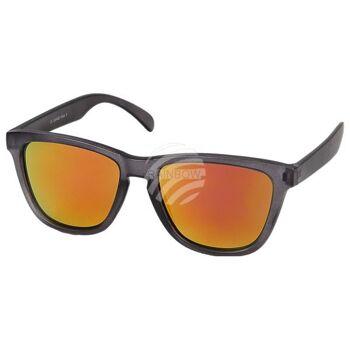 V-1231 VIPER Damen und Herren Sonnenbrille Form: Vintage Retro Farbe: transparent, Farbsortierung