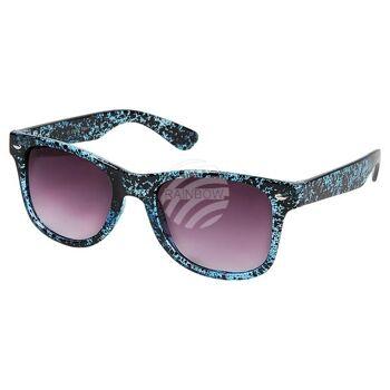 V-1237 VIPER Damen und Herren Sonnenbrille Form: Vintage Retro Farbe: farbig sortiert, Sprenkel Muster