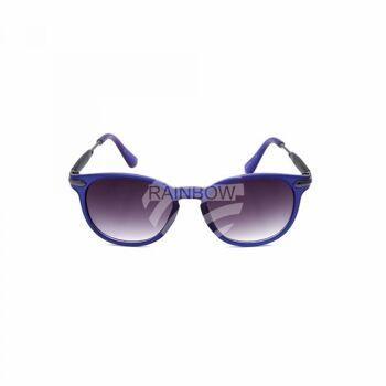 V-1402 Retro Vintage Nerd Blues VIPER Damen und Herren Sonnenbrille Bügel teilweise in Rahmenfarbe sortiert