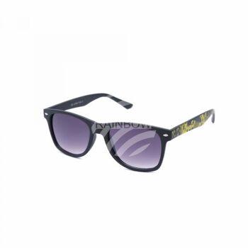 V-1412 Retro Vintage Nerd Blues VIPER Damen und Herren Sonnenbrille Digital Camo schwarz grün