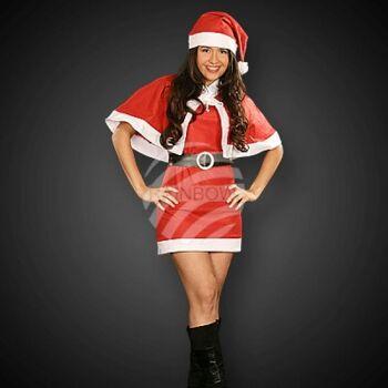 WK-75 sexy Weihnachts Kostüm für Frauen