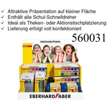 12-560031, Faber Sonderdisplay 56-teilig, alles für die Schule
