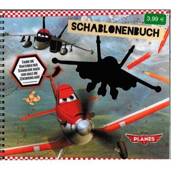 12-906414, Kinder Buch Schablonenbuch Disney Planes, PAZ 3,99 €, Edition Nova, Kinderbuch