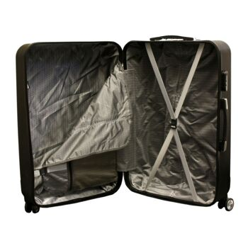 Kofferset 3 tlg. silver