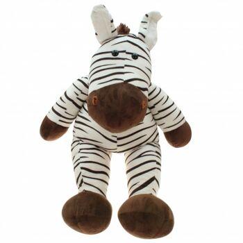 10-155020, Plüsch Comic  Zebra 85 cm, Plüschzebra, Plüschtier, Kuscheltier