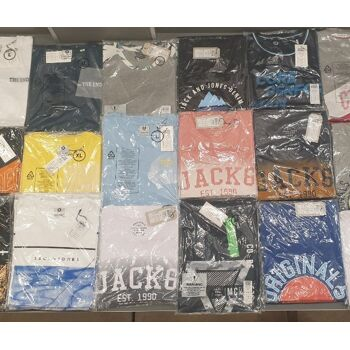 Jack & Jones T-Shirt, Solid und ähnliche T-Shirt MIX Posten
